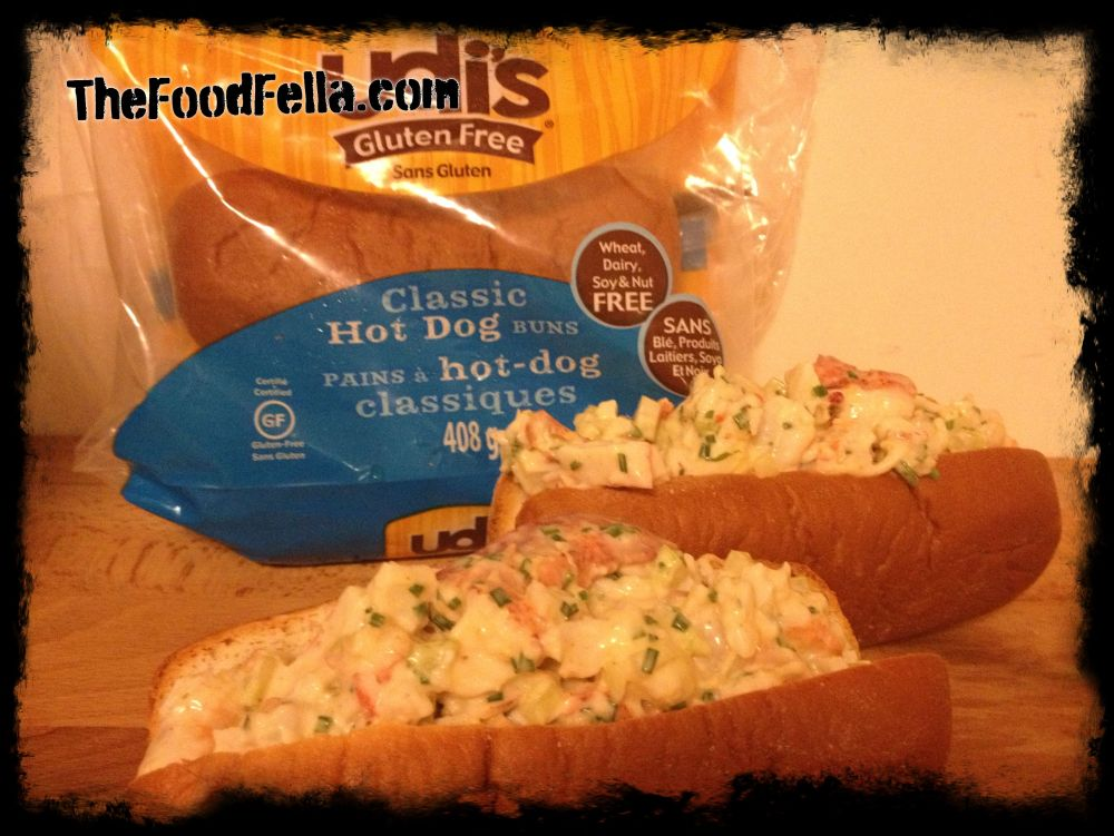udi's Gluten Free Lobster Rolls